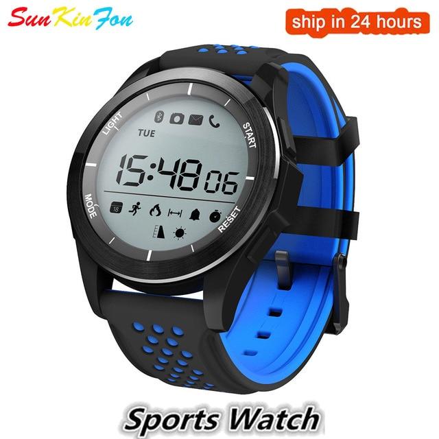 new concept 10735 ca942 US $22.99 |For OPPO A77 A59s A57 A37 VIVO NEX X23 X21 Bluetooth Sports  Smart Watch Waterproof Pedometer Outdoor Fitness Tracker Smartwatch-in  Smart ...