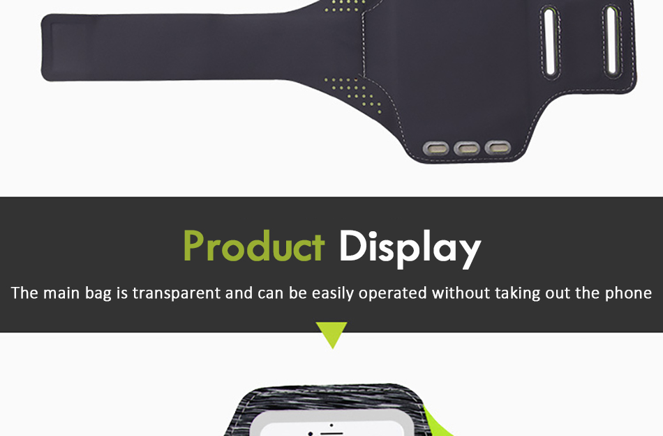 !ACCEZZ Sport Running Armbands Holder 4.75.8 inch For Oneplus 5 iPhone 7 6 8 Plus Xiaomi 6 Phone Pouch Gym Cover Arm Band Cases (8)