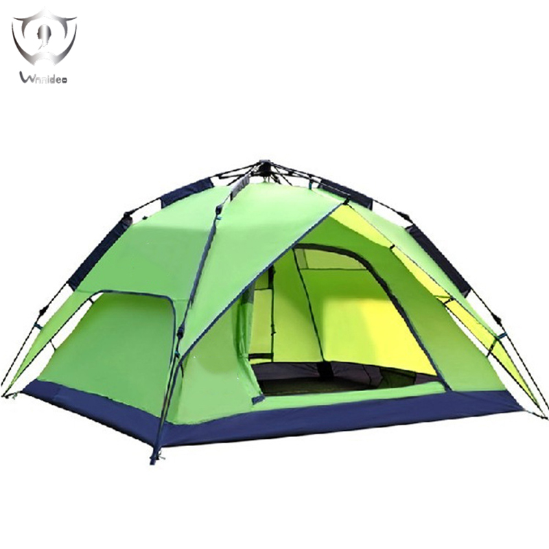 2018 Wnnideo New Three Ways To Use Outdoor Camping Picnic 3 4 People Tent Portable Automatic Opening