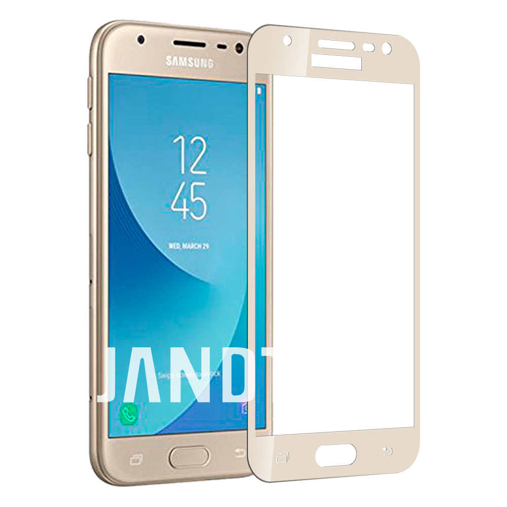for samsung galaxy J3 pro 2017 screen protector tempered glass case friendly bubble free accessaries