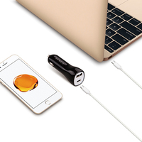 LVSUN 1 USB type-c type c USB-C USB C Autolader Laptop Adapter voor HP Spectre 13X2 Elite X2 MacBook G1 E7370 XPS13 Yoga 5 Pro