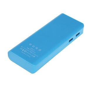 Image 4 - Rovtop 뜨거운 판매 5V 듀얼 USB 5x18650 전원 은행 배터리 상자 휴대 전화 충전기 DIY 쉘 케이스 iphone6 플러스 S6 xiaomi