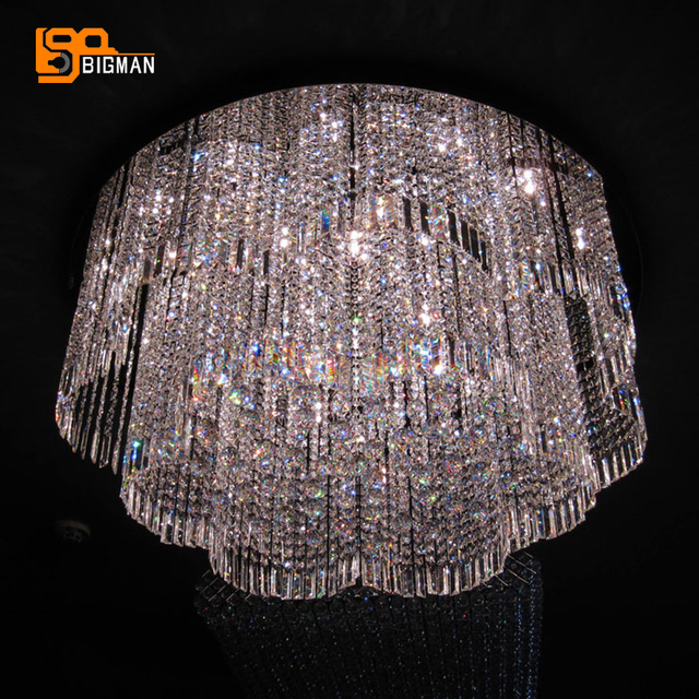 large lighting fixtures. Simple Large New Design Large Crystal Chandelier Lighting Fixtures Modern Hotel Lobby  Living Room Lights With Large Lighting Fixtures C