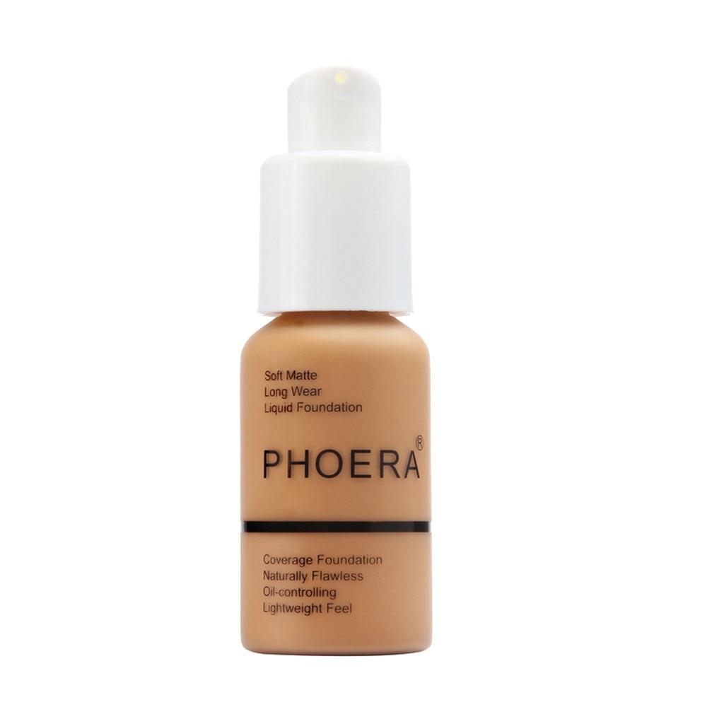 PHOERA Full Coverage Liquid Foundation 1