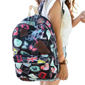 2016 Hot famous brands women canvas backpack women bags ladies travel bag school bags students backpacks canvas rucksack XA130B