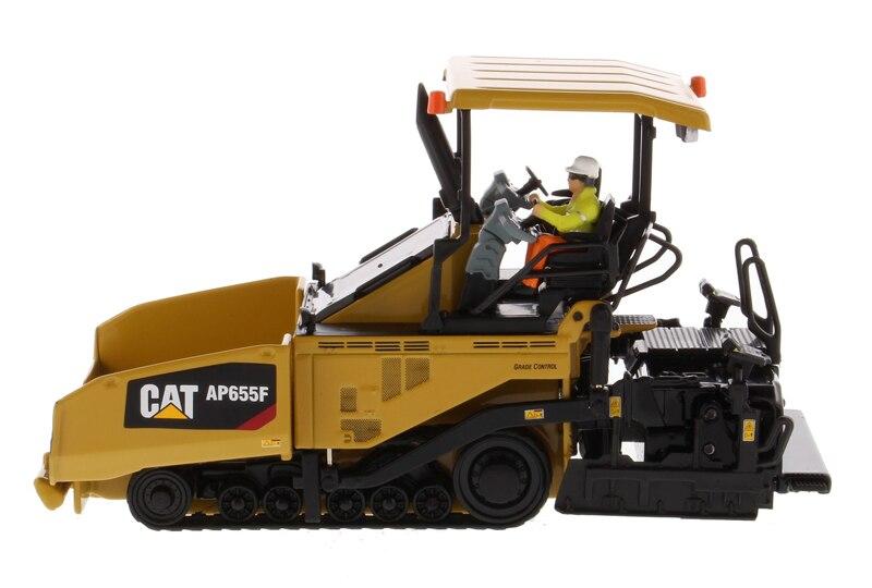 DM-85590 1:50 гусеничная AP655F Асфальтоукладчик Литья под давлением Модель игрушечных автомобилей