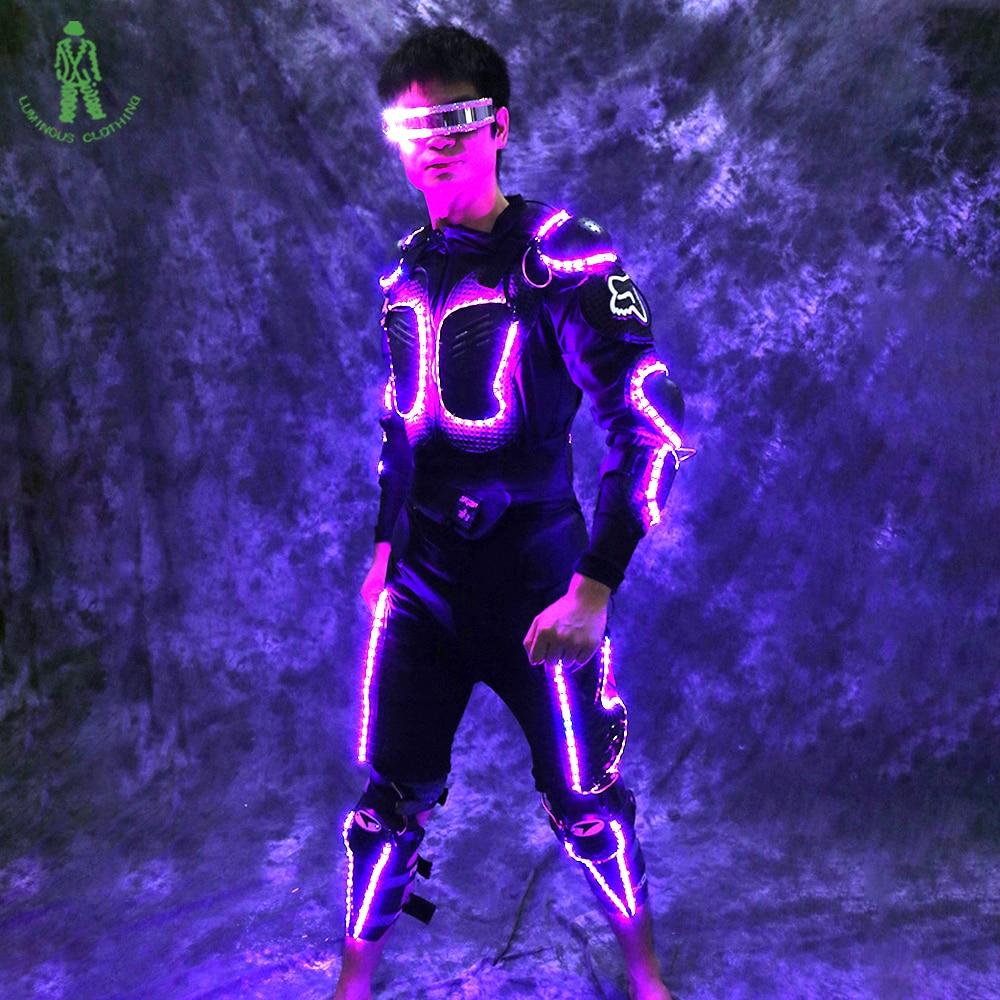 Transporti Falas LED Ndriçimi Armor Tron Trashëgimisë Rroba - Furnizimet e partisë - Foto 1