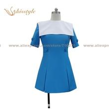 Kisstyle Fashion ZONE-00 Hime Shirayuri Uniform COS Clothing Cosplay Costume,Customized Accepted