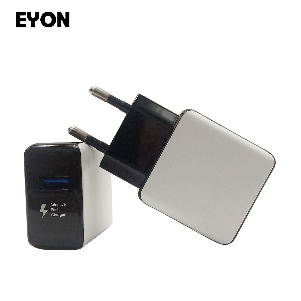 EYON Quick Charge 2.0 5V 9V USB Turbo Wall Charger QC 2.0 Fast Charger for Samsung Note 8 5 S8 S7 S6 Edge + HTC Xiaomi Mi6 5S 4