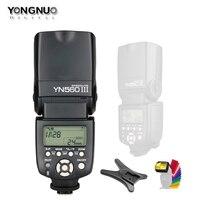 YONGNUO YN560III YN560 III YN560 III Wireless Flash Speedlite Speedlight For Canon Nikon Olympus Panasonic Pentax Camera