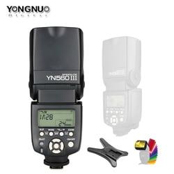 Yongnuo YN560III YN560-III YN560 Iii Wireless Flash Speedlite Flitser Voor Canon Nikon Olympus Panasonic Pentax Camera