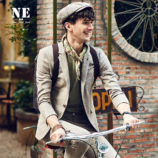 EARL JOEL high quality 2015 spring autumn font b men b font wedding groom business 50