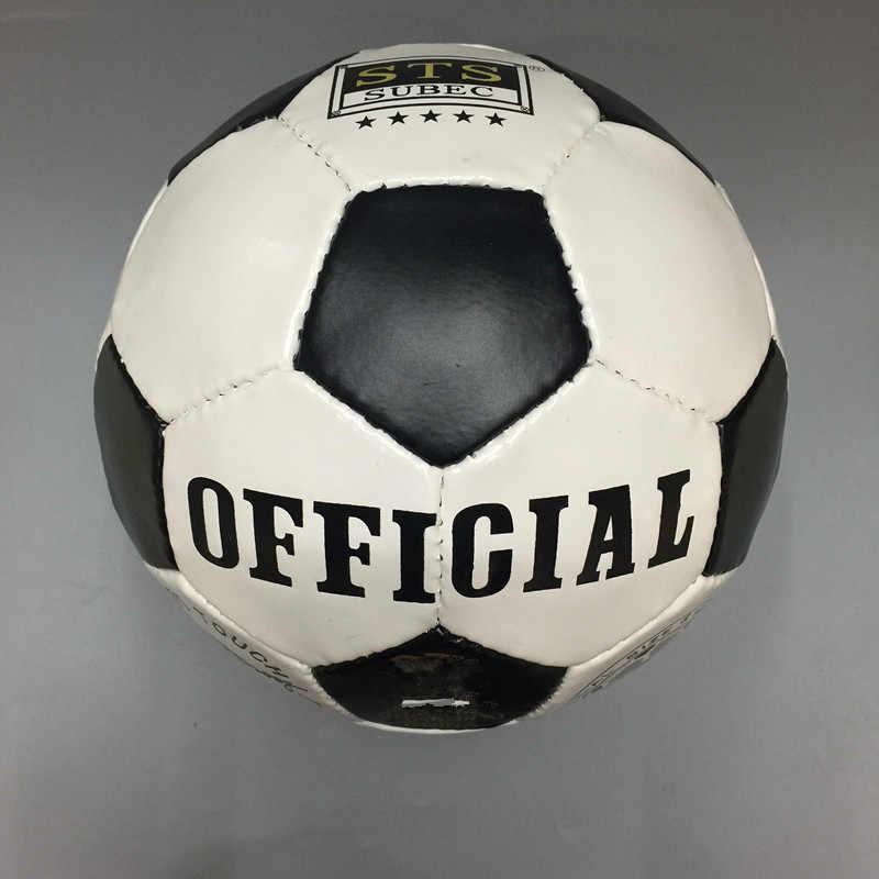 Горячая Распродажа классический черный белый стандартный футбольный мяч, размер 5 тренировочный Voetbal Германия Испанский футбол Франция 2017 futbol