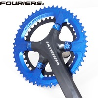 Fouriers Chainwheel Double Chainring for PCD 110 6800 Chain Ring CNC Made Chain wheel