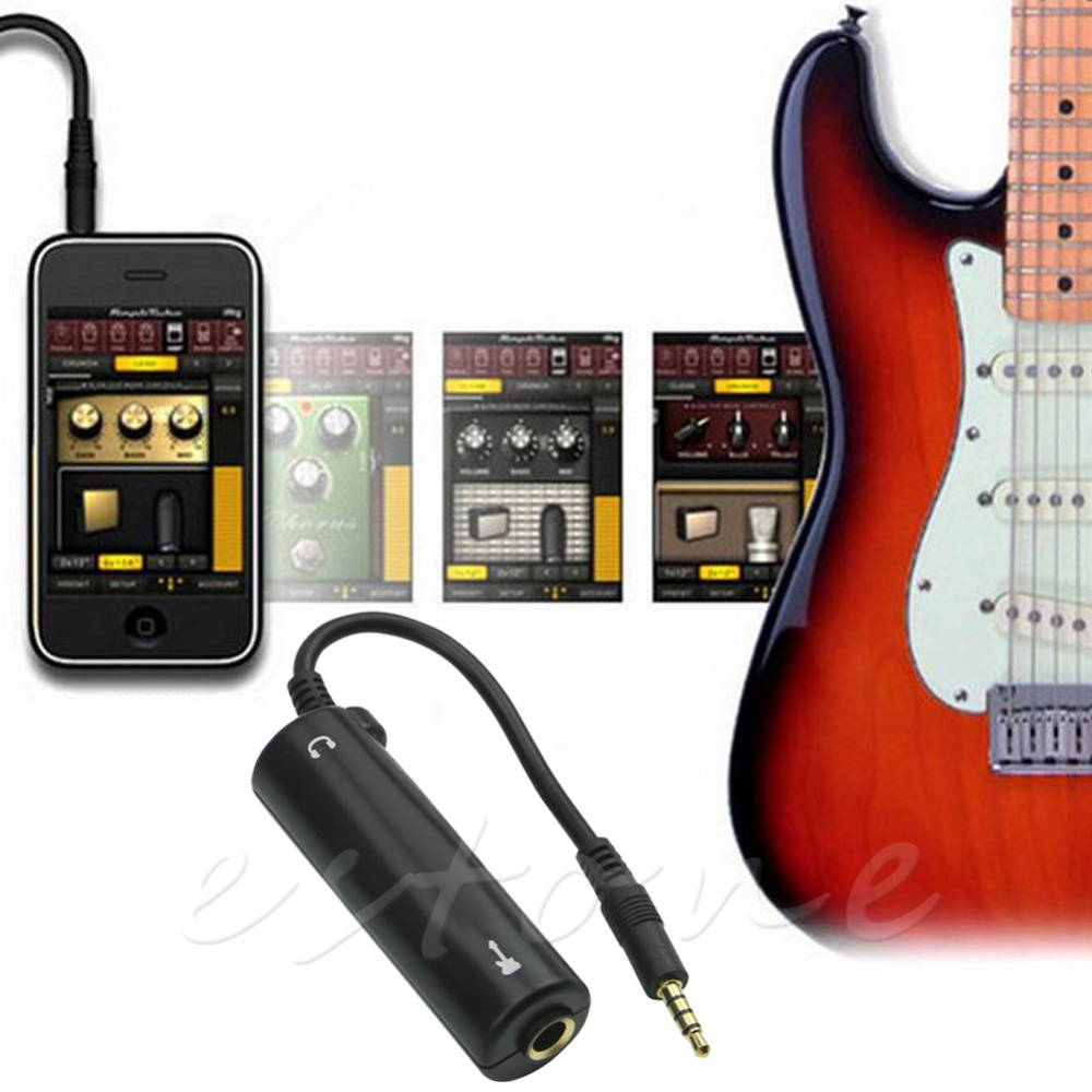 1 PC Guitar Effect Multimedia Instrument Adapter Guitar parts Guitar interface converter
