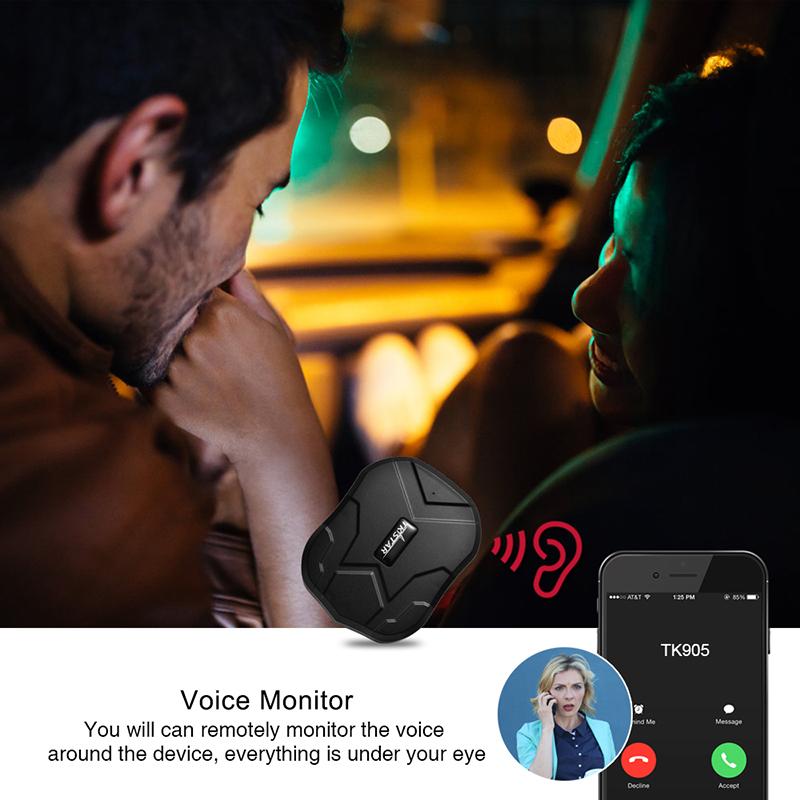 TK905 GPS localisateur étanche GPS véhicule Tracker 2G aimant moniteur vocal gratuit Web APP GPS Tracker voiture 90 jours veille Tkstar - 4