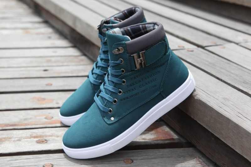 1 çift Bahar Sonbahar Ayakkabı Sıcak erkek ayakkabısı Tenis Masculino Erkek erkek Rahat rahat ayakkabılar Tuval Botas PA871485