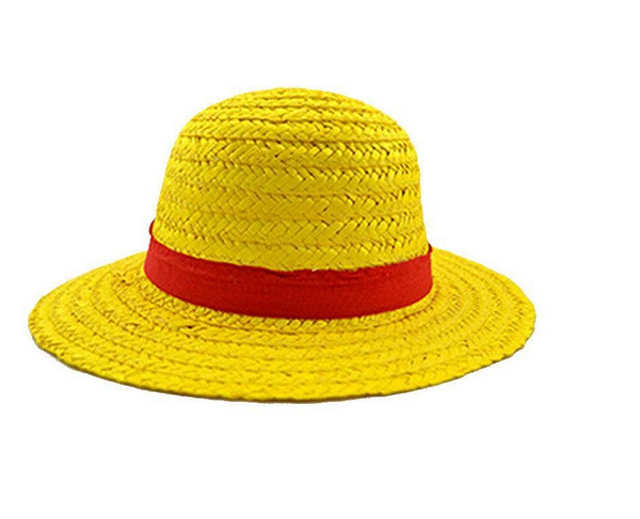 fd2c935f090dd free shipping One Piece Luffy Straw hat Performance animation COSPLAY hat  yellow