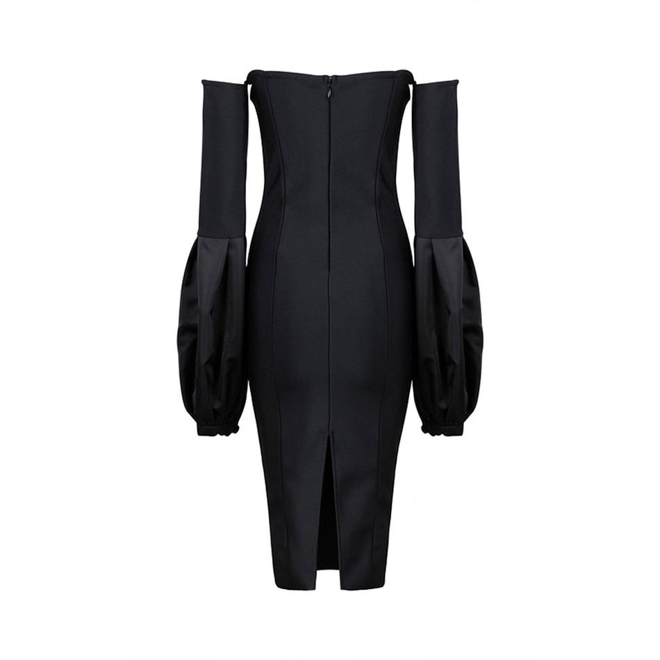 Bandage Robes Gros Noire Nouvelles Sexy D'été Robe En 2017 Femmes Ailigou Noir Celebrity Party Moulante Bretelles 7wg6Ix6Hq