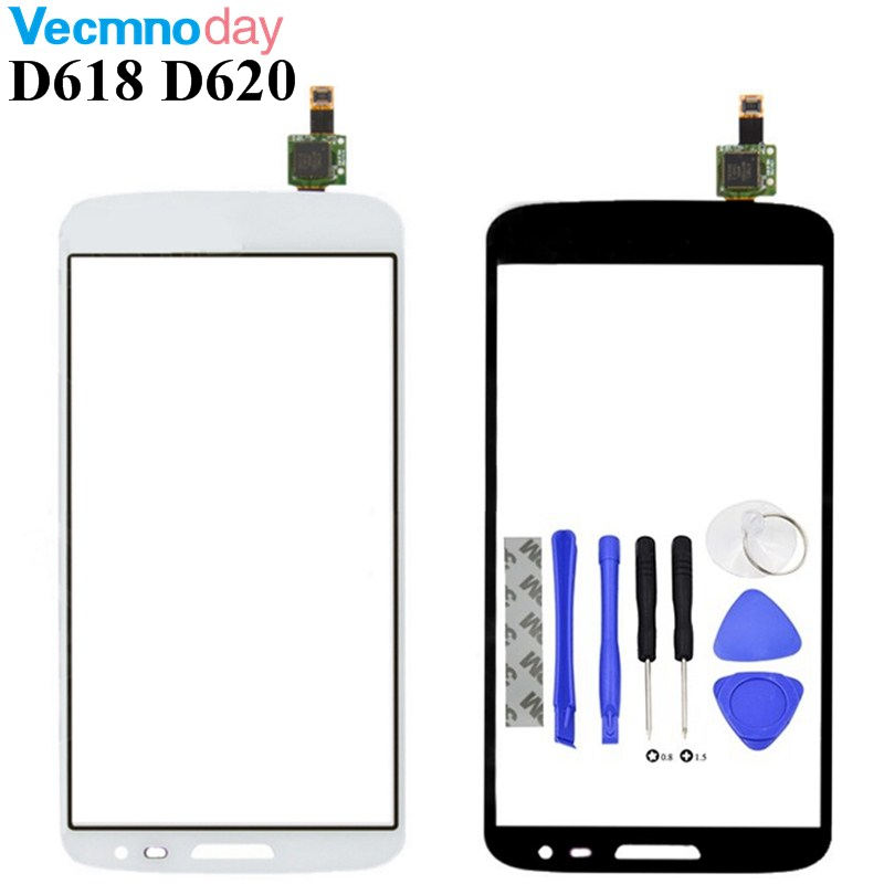 Vecmnoday For LG G2 Mini D618 D620 Touch Screen Digitizer Glass Sensor Replacement Original Touch Panel Parts Free Shipping+tool