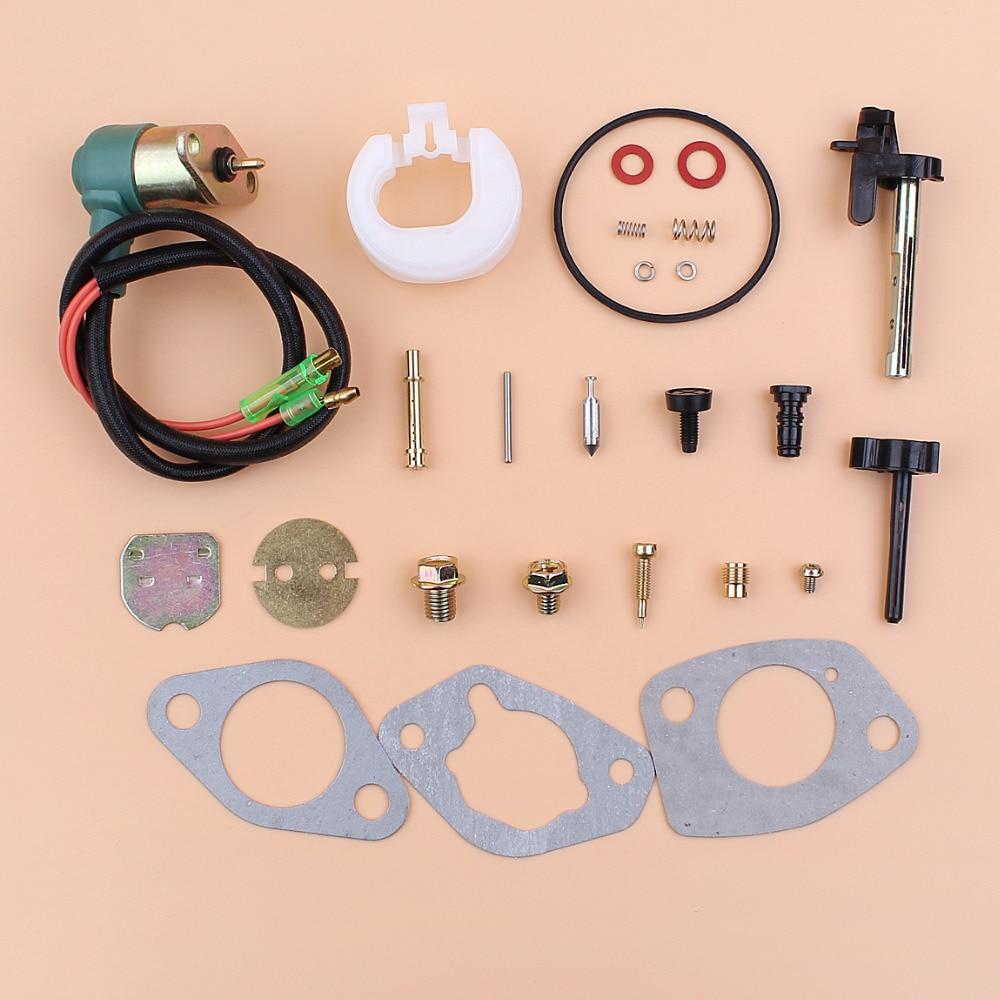 Carburetor Carb Solenoid Gasket Repair Kit Fit Honda GX390 GX 390 Chinese 188F 13HP Gasoline Engine Motor Generator