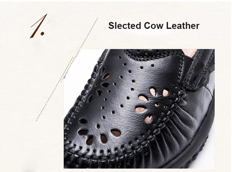 Atmungs Weibliche Handgemachte Schuhe 8