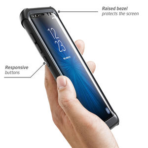 Image 4 - For Samsung Galaxy S8 Plus Case Original i Blason Ares Series Full Body Rugged Clear Bumper Case with Built in Screen Protector