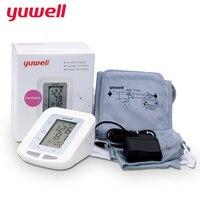 Yuwell Arm Blood Pressure Monitor Kỹ Thuật Số LCD Heart Beat Meter Sức Khỏe Tại Nhà Chăm Sóc Tự Động Tonometer Meter huyết áp kế 660B