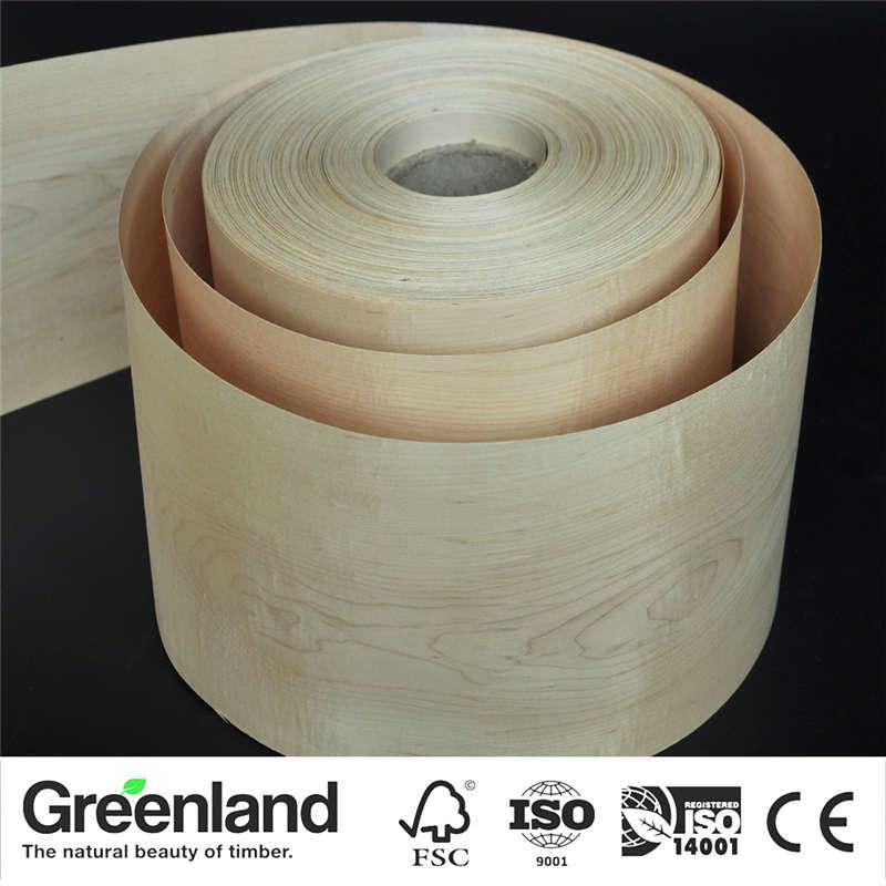 Maple(C.C) Wood Veneers size 250x20 cm table Veneer Flooring DIY Furniture Natural Material bedroom chair table Skin