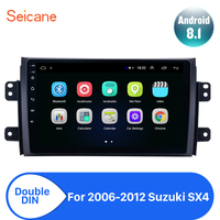 Seicane Android 8.1 2din Car Head Unit Player For 2006 2007 2008 2009 2010 2011 2012 Suzuki SX4 Radio GPS Navi Mirror link wifi