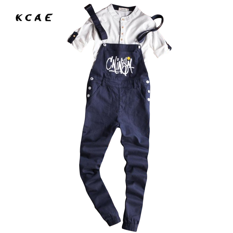 Free Shipping 2017 New Arrival Male Green Jumpsuit Casual Pockets Bib Overalls Male Suspenders Cargo Pants Ankle Length free shipping 2017 new fashion pockets ripped denim bib overalls men s casual jeans jumpsuit suspenders cargo pants 060701
