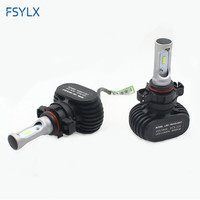 FSYLX PSX24W LED Headlight Conversion kit for Subaru XV Logan impreza PSX24W DRLLED fog lamps PSX24 Car LED Headlamp Headlight