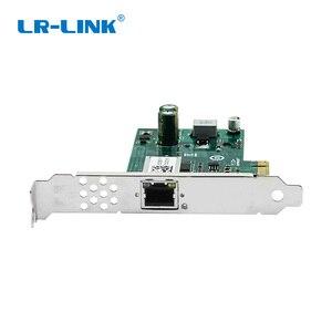 Image 4 - LR LINK 2001PT POE جيجابت إيثرنت POE + الإطار المنتزع PCI اكسبرس 1xRJ45 محول الشبكة الصناعية مجلس الفيديو بطاقة إنتل I210