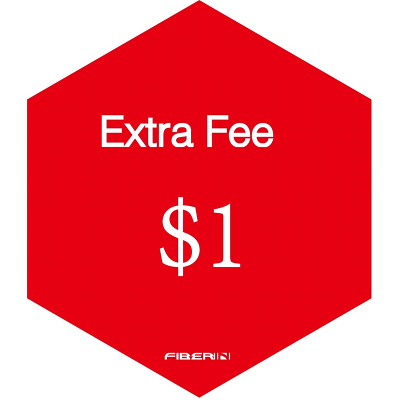 Extra Fee for shipping cost, patches, badges and other fees