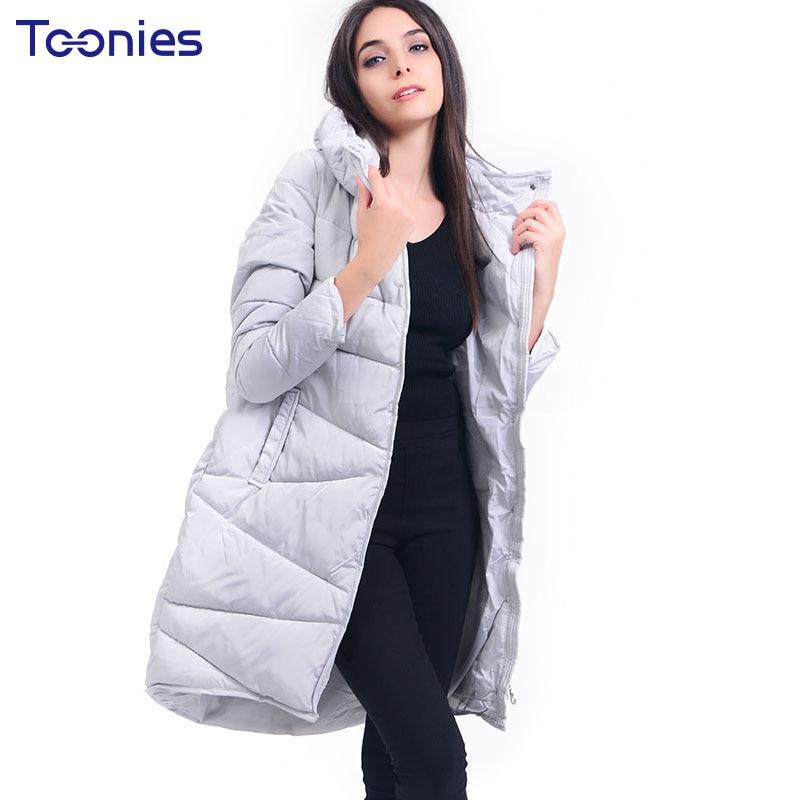 Parka 2017 New Arrival Casual Warm Long Sleeve Ladies Basic Coat Jaqueta Feminina Jacket Women Parkas Cotton Women Winter Jacket