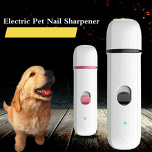 Electric Pet Nail Sharpener Fully Automatic USB Charging Dog And Cat Nail Clipper Pet Supplies Nail Cleaning Tools(China)