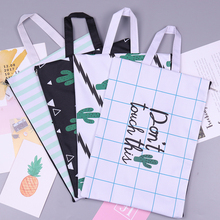 File-Folder Document-Bag Papers Stationery Storage Business-Briefcase Cactus A4 for Student