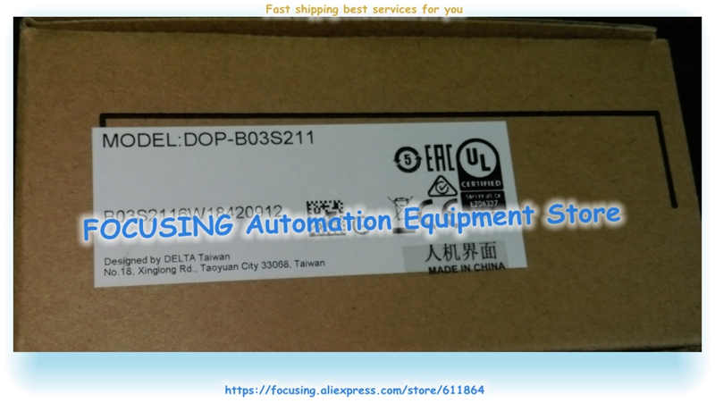 DOP B03S211 updated to DOP 103BQ , DOP B03S210 Delta New Original HMI 4.3 inch Panel-in Tablet Stands from Computer & Office