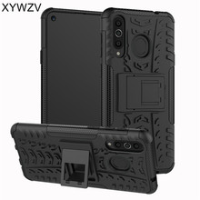 For Samsung Galaxy A8s Case Shockproof Armor Rubber Hard Phone Cover Holder Fundas