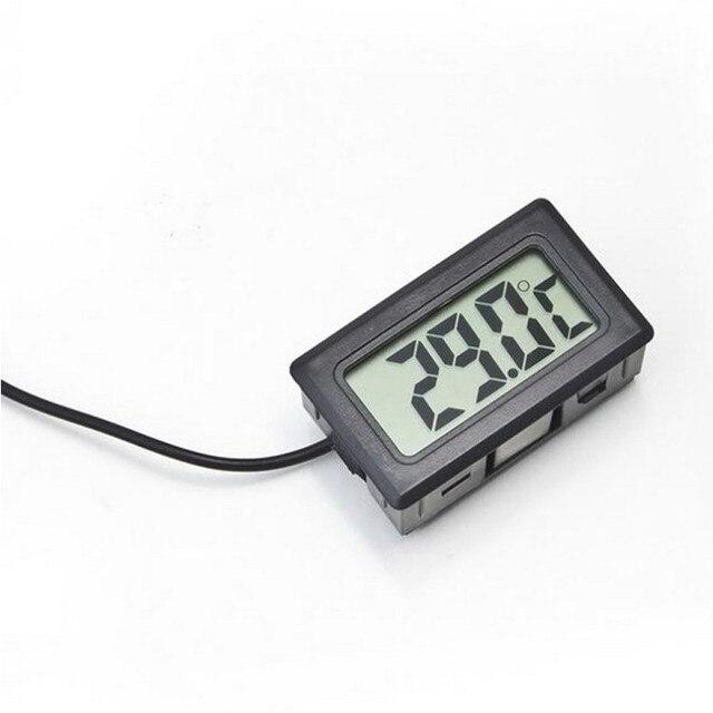 1 Piece Digital LCD Probe Fridge Freezer Thermometer Thermograph For Aquarium Refrigerator