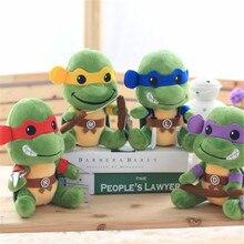 1pc 20cm TMNT the Teenage Mutant Ninja Turtles Plush Toys Movies & TV Toys & Hobbies Stuffed & Plush Animals dolls birthday gift