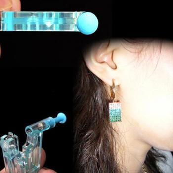 2018 New Arrival 1PC Earring Body Piercing Kit Ear Gun Stud Ear Disposable Asepsis Safety Drop Ship 6