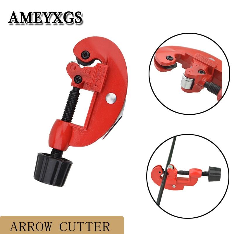 Arrow Shaft Cut Off Saw Trimmer Arrow Cutter 3-28mm Cutting Diameter Arrow Shaft DIY Cutting Tool Archery Aid Accessories(China)