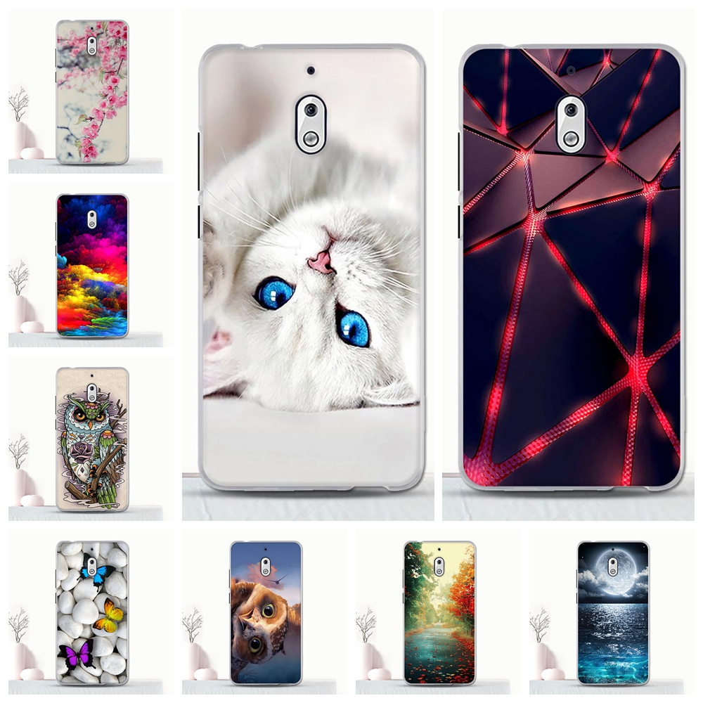 For Nokia 2.1 Case Back Shell For Nokia 2.1 TA-1080 Case TPU 3D Pattern Coque For Nokia2.1 Silicone Bumper Funda 5.5 Inch Cover