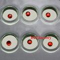 10 unids/caja Dental Rojo de Cristal Adornos Diente Dientes Gema Gemas Joyería