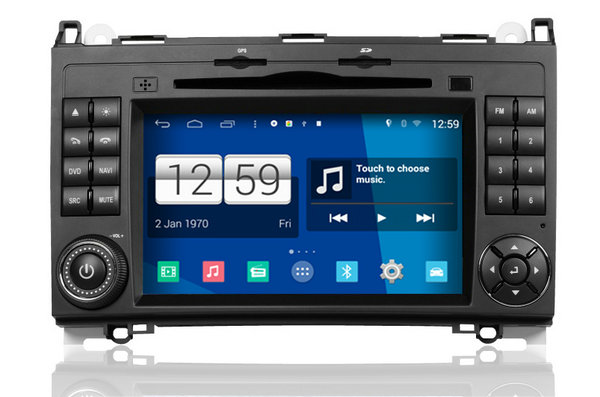 S160 Android 4.4.4 CAR DVD player FOR MERCEDES-BENZ B CLASS W245 (2009-2011) car audio stereo Multimedia GPS Head unit