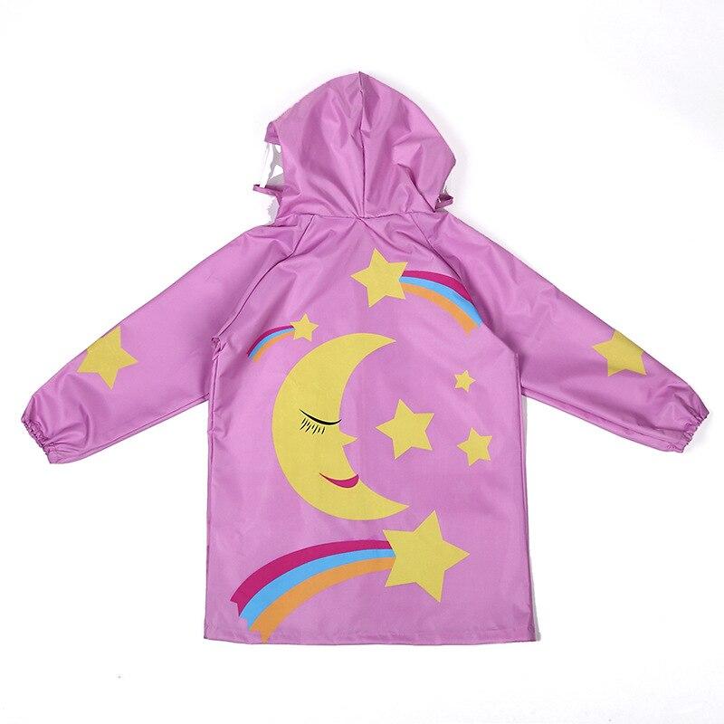Dziecięcy płaszcz przeciwdeszczowy Fashion Cartoon Waterproof Boy - Ubrania dziecięce - Zdjęcie 4