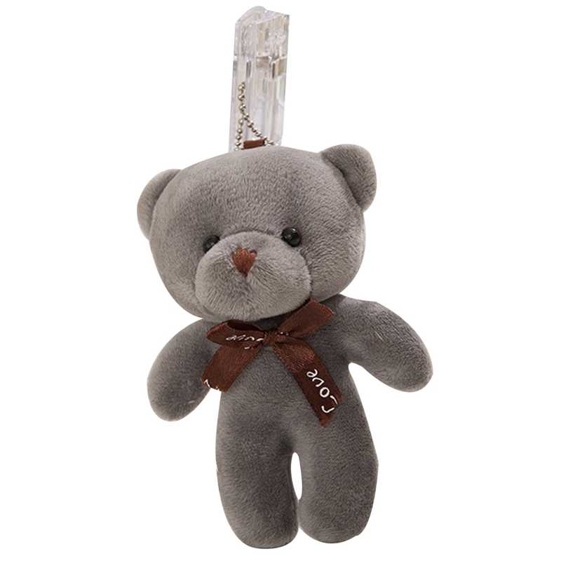 10 цветов Горячая Свадьба Любовь бант Тедди Набивная игрушка «Медведь» плюшевая игрушка; подарок брелок медведь Детские игрушки