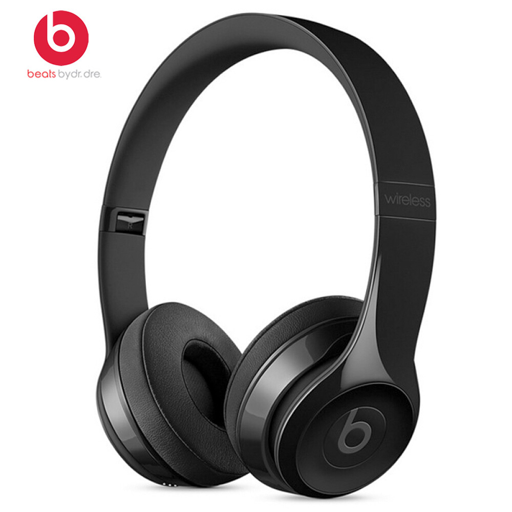 Beats Solo 3 Wireless Bluetooth Earphones On Ear Headphones Gaming Headset Music Hands free with Mic