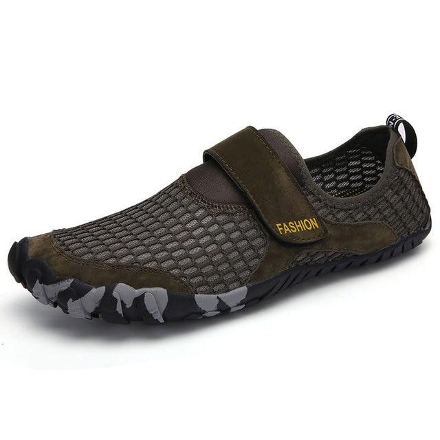 Zapatillas Verano Dedos 2019 Deportes Deporte De Libre Aqua Fitness Los Cinco Zapatos Descalzos Hombres Al Aire Agua Para Ligeros DE2H9WIY